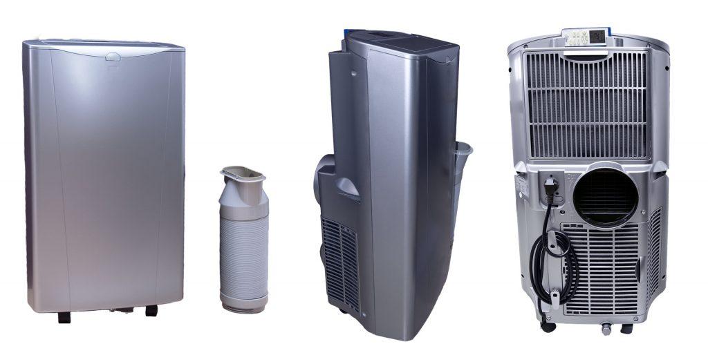 Un climatiseur mobile