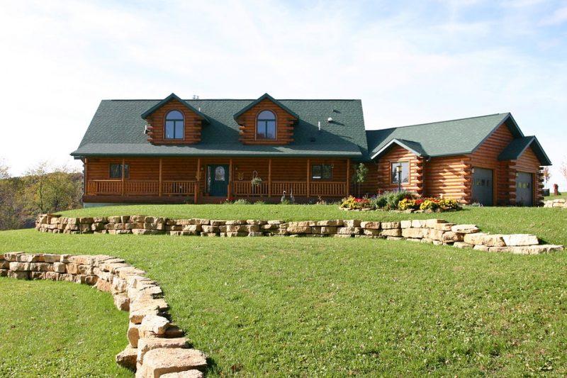 Maison en bois en kit