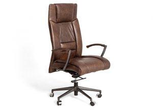 Le fauteuil en cuir vintage